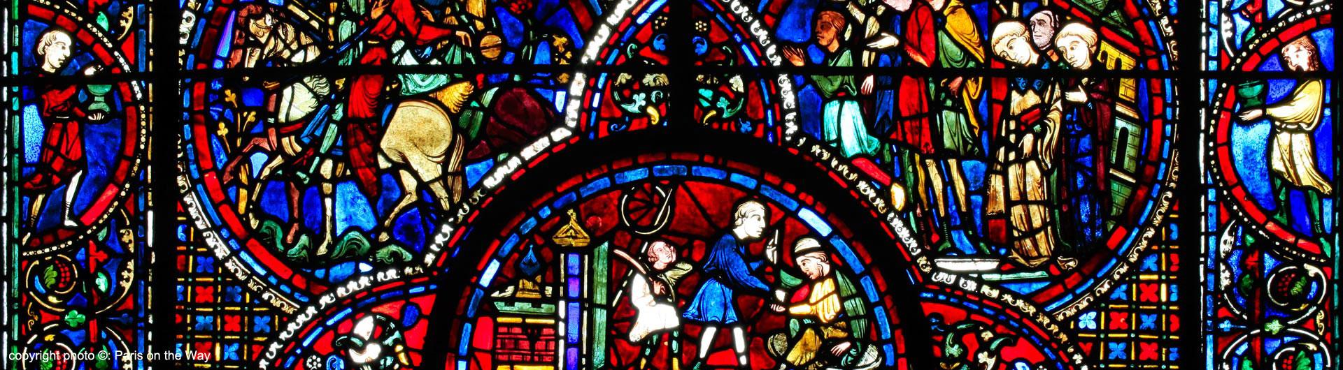 Resultado de imagen de vidriera gótica